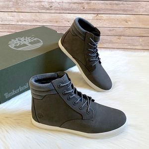 Timberland Medium Grey Dausette Sneaker Boots